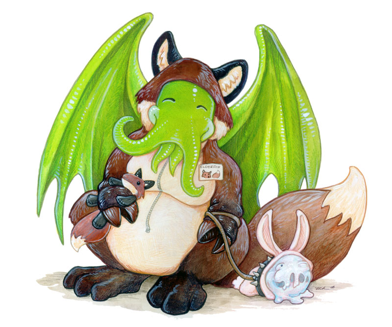 Fursuit Cthulhu by ursulav