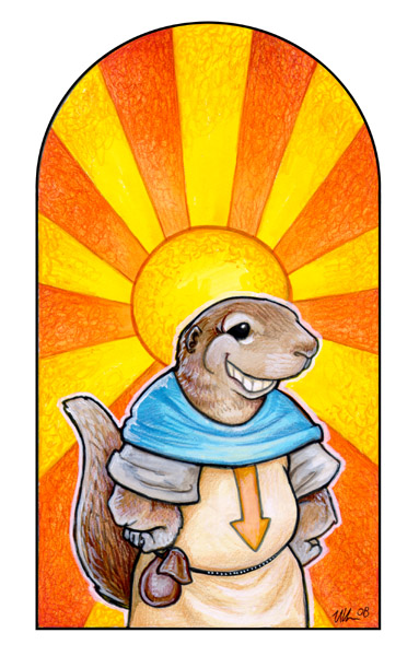 St. Ungo the Well-Endowed by ursulav
