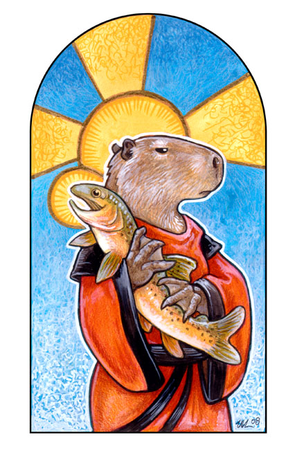 St. Snargus and the Trout
