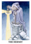 Wombat Tarot--The Hermit