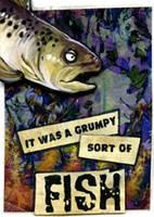 ACEO - Grumpy Fish by ursulav