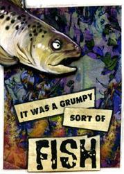ACEO - Grumpy Fish