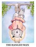 Wombat Tarot--The Hanged Man