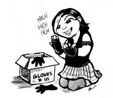 Glove Problem by ursulav