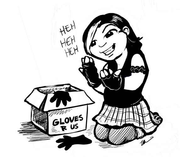 Glove Problem by ursulav