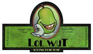 Biting Pear Soap