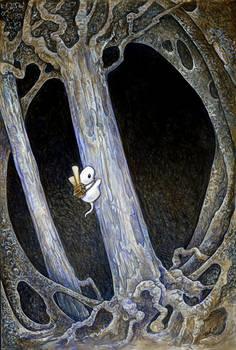 Squishy Climbs The Neuron