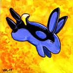Blue Tang Bunny