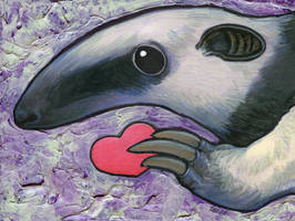 Tamandua Heart by ursulav