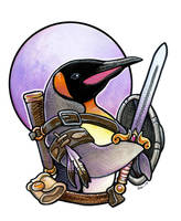 Pengwan the Barbarian by ursulav