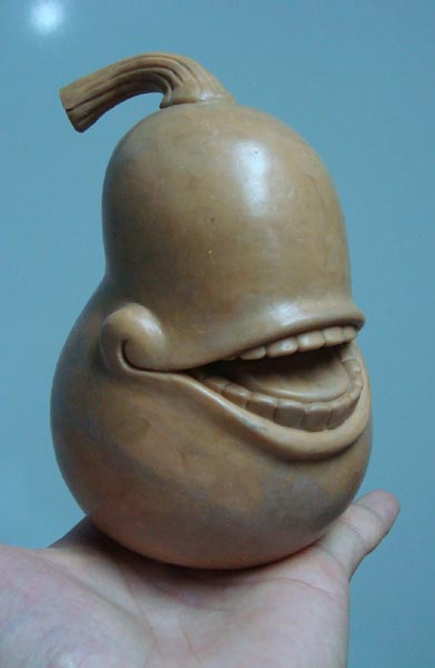Pear Sculpt by ursulav