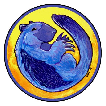 Blue Wolverine by ursulav