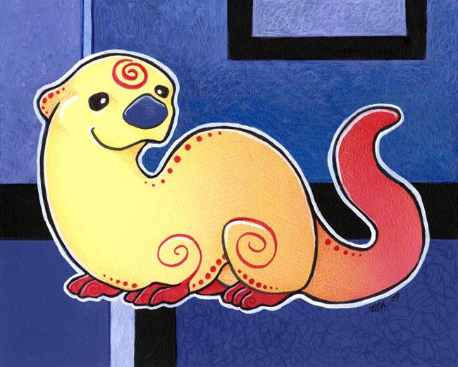 Vivid Otter by ursulav
