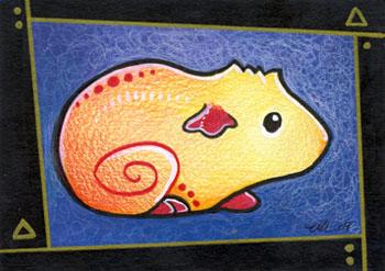 Vivid Guinea Pig by ursulav