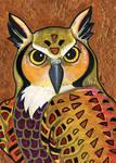 Klimt's Owl