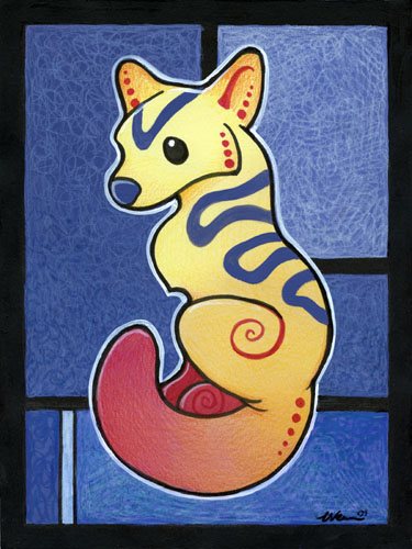 Vivid Fox by ursulav