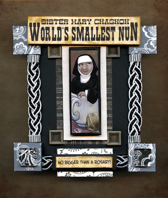 World's Smallest Nun by ursulav