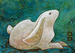 Verdigris Rabbit