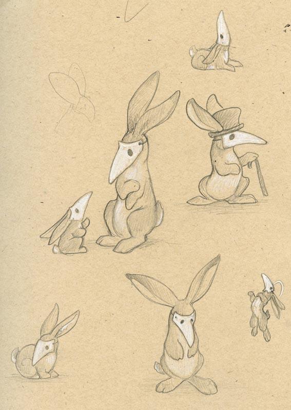 Rabbits in Masks