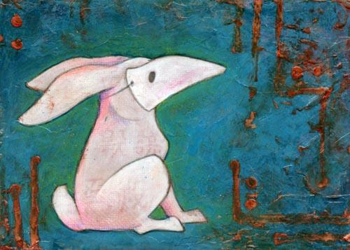 Rabbit in Mask