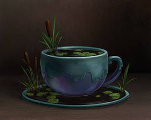 Cattail Tea
