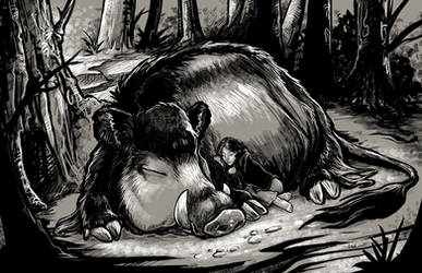 The Boar God's Gift by ursulav