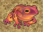 Flame Frog