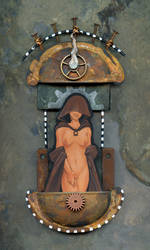 Our Lady of Grackles Shrine by ursulav