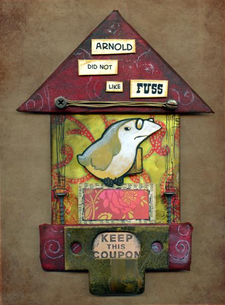 Arnold's Birdhouse by ursulav