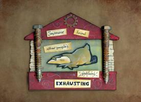 Seymour's Birdhouse by ursulav