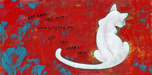 Judging the White Cat