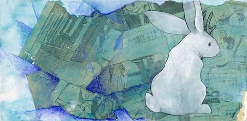 White Jackalope by ursulav