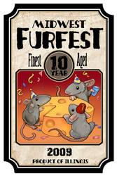 Midwest Furfest Design by ursulav