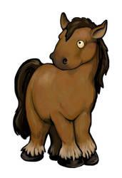 Horse Card Design by ursulav