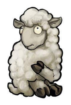 White Sheep Card Design