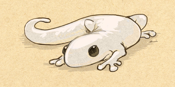 Newt Doodle by ursulav