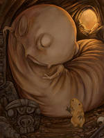 Blood Gatherer and the HLC by ursulav