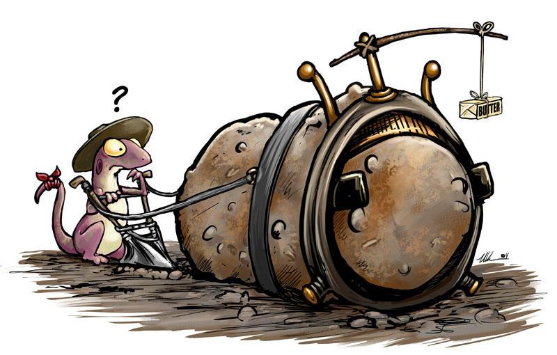 Plow Potato by ursulav