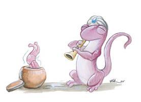 The Slug Charmer by ursulav