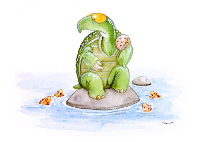 The Goldfish Are Restless by ursulav