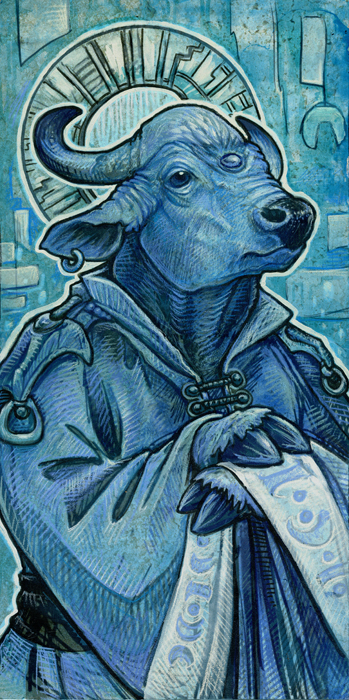 Saint of Bulls by ursulav