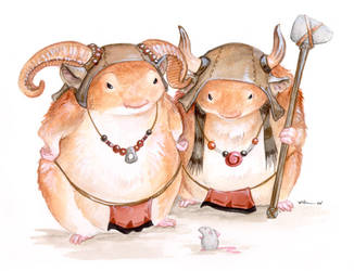 Battle Hamsters of the North
