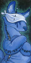 Blind Blue Fox