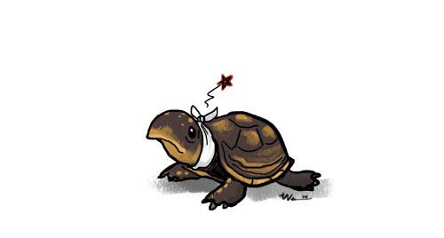 Turtle-Bob the Third by ursulav
