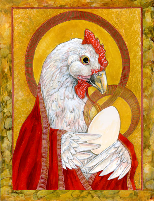 Madonna And Egg