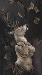 Writing Poems For Wolves by ursulav