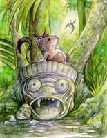 Jungle Rat by ursulav