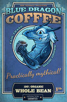 Blue Dragon Coffee by ursulav