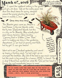Wheelbarrow Journal by ursulav