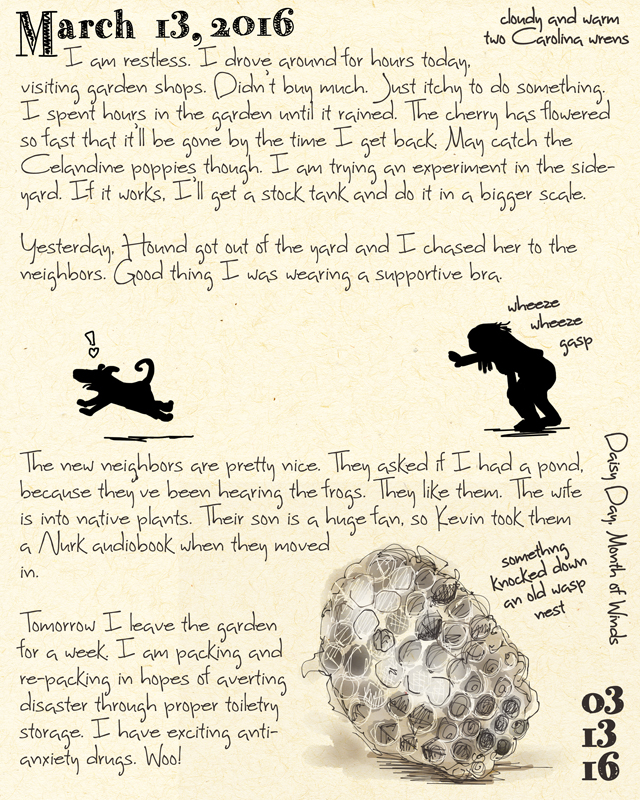 Wasp Nest Journal by ursulav